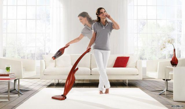 Постоянная чистота и порядок в доме