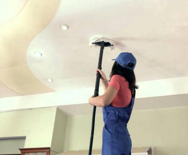 Советы по мытью пластикового натяжного потолка